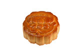 Isolated Flower Moon Cake