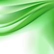 abstract green background with folding waves