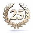 Leinwanddruck Bild - 25 Years Silver Jubilee