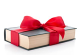 Fototapety Gift wrapped book