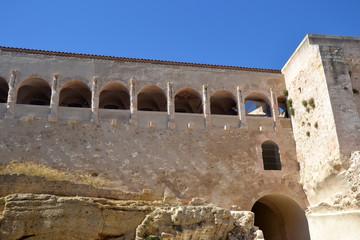 Marseille 2013 - Coursive intérieure Fort St Jean