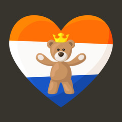 Dutch Royal Teddy Bear