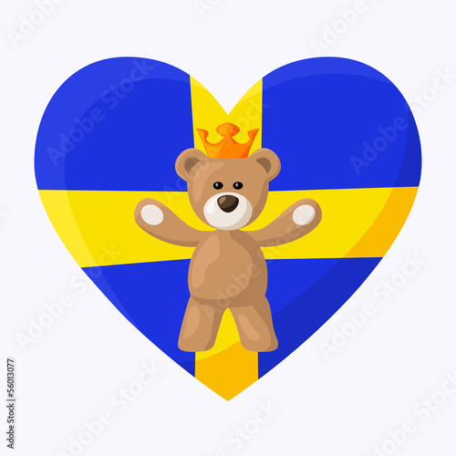 Swedish Royal Teddy Bear