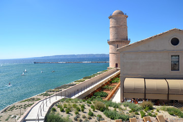 Marseille 2013 - Le phare Sainte Marie