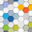 Honeycomb Structure Background 1 #Vector