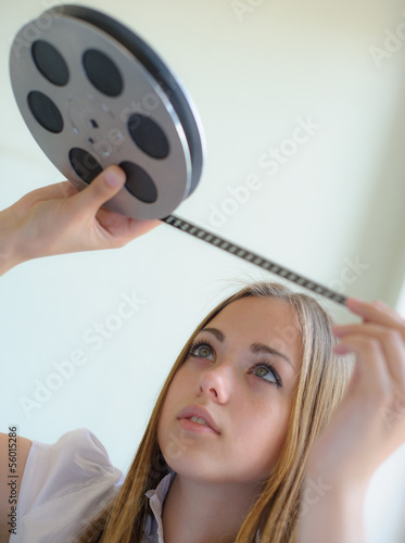 girl and film