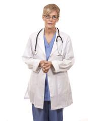 mature female doctor