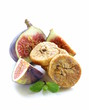 dried figs and fresh fruit