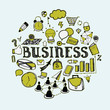 Set of primitive elements of the business