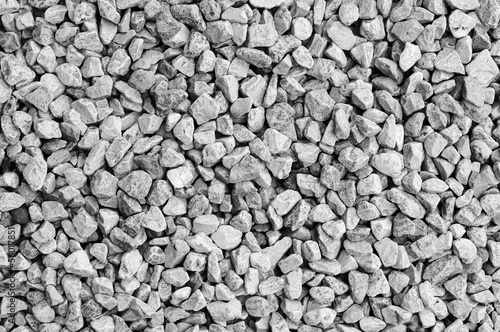 crushed stone background