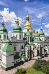 Cathedral of St. Sophia. View from Bell Tower, Kiev, Ukraine.