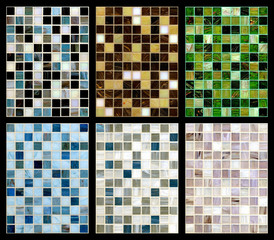 Seamless mix of mosaic