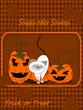 Halloween Karte, Einladung