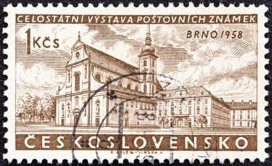 St. Thomas's Church, Red Army Square (Czechoslovakia 1958)