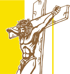 jesus with vatican background