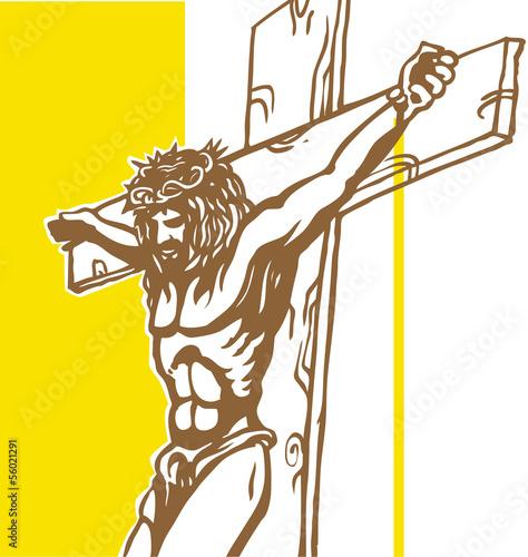 jesus with vatican background - 56021291