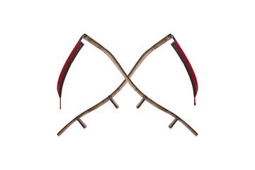 Crossed Scythes