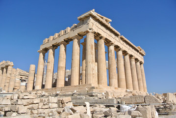 Parthenon in Acropolis, Athens - Greece