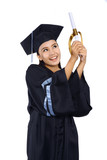 Beautiful Female Graduate
