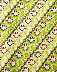 Colorful Thai texture fabric as background