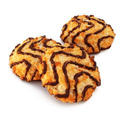 Biscuit noix de coco et chocolat