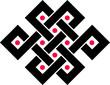 Endlos Knoten, Tibet, endless knot, Buddhismus