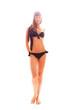 Hübsche Frau in Bikini