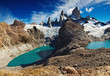 Laguna de Los Tres and Laguna Sucia, Patagonia, Argentina