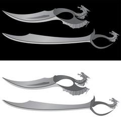 dragons saber and knife