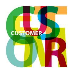 Vector Customer. Broken text