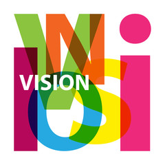 Vector Vision. Broken text