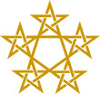 Pentagramm - Goldener Schnitt - Pentagon