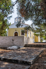 Chapel in Spetses island, Greece