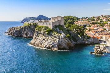 Lovrijenac Fort. Dubrovnik - UNESCO World Heritage Site. Croatia