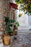 Street in Hydra island, Greece - 56035808
