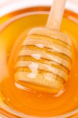 Honey dipper.