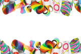 Assorted Party Blowers Border