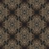 Boho brown seamless Pattern poster