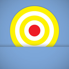 goal ring in archery target