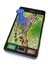 NAVIGATION WITH PHONE - 3D