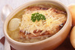 bowl of onion soup