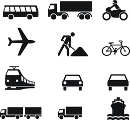 icônes transport