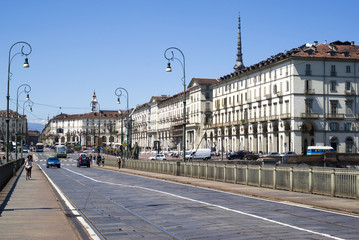 Central Square in Turin, Italy