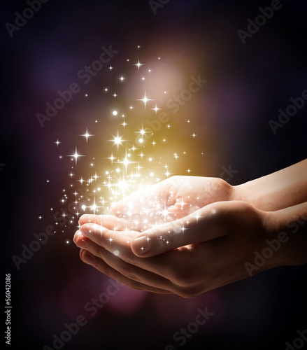 stardust and magic in your hands