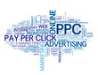 """PPC"" Tag Cloud (pay per click seo search engine optimization)"