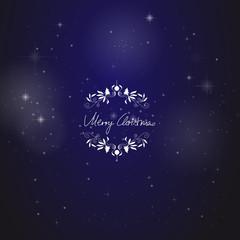 Weihnachtskarte Universum