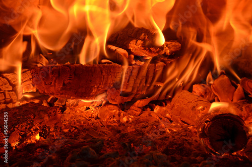 Keuken foto achterwand Vuur / Vlam fuoco