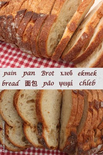 Pain  Bread   Brot  Pan   Chleb  Ekmek  . . . .