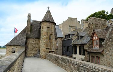 Houses in Mont Saint Michel – Normandie, France