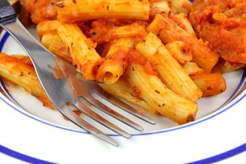 Chicken Pasta Marinara Close